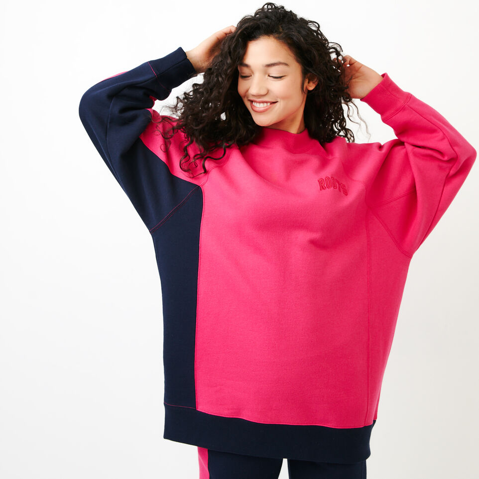 Roots-undefined-The Oversized Crew Sweatshirt-undefined-A
