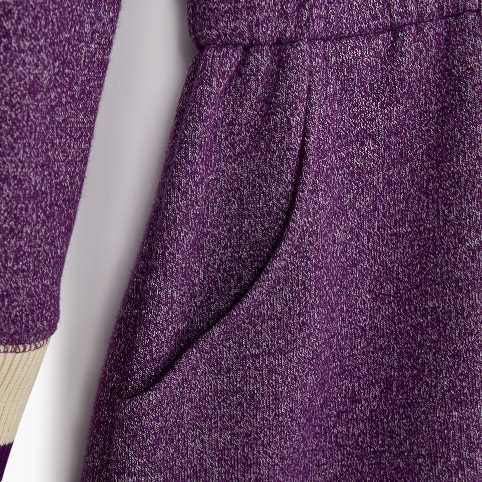 Roots-Kids Categories-Girls Buddy Cozy Fleece Dress-Grape Royale Pepper-D