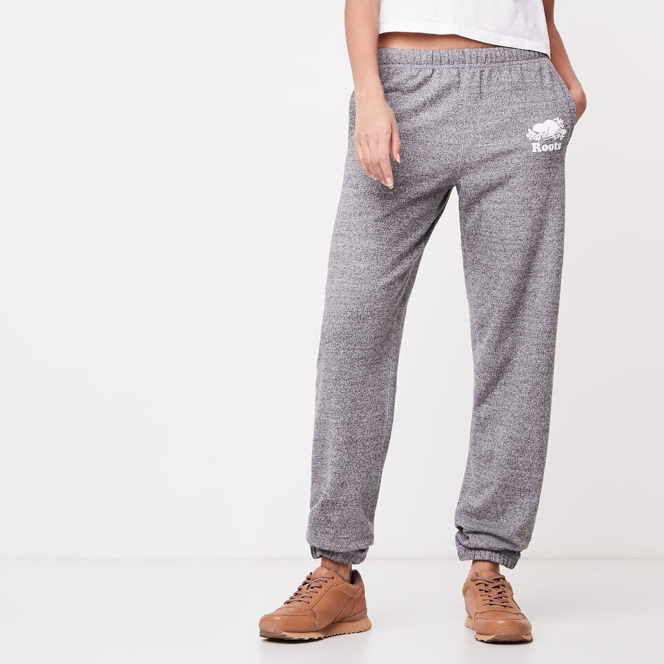 Roots-undefined-Roots Salt and Pepper Boyfriend Sweatpant-undefined-B