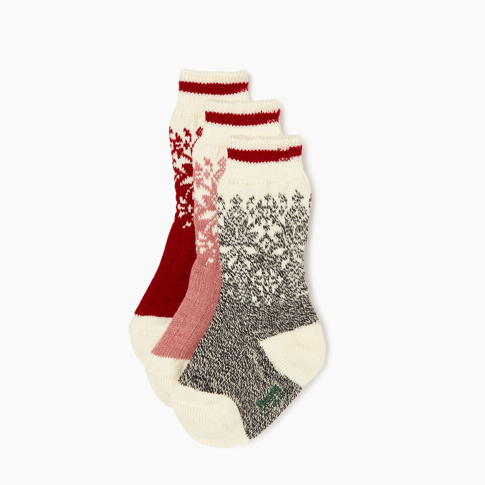 Roots-undefined-Kids Elsa Cabin Sock 3 Pack-undefined-A