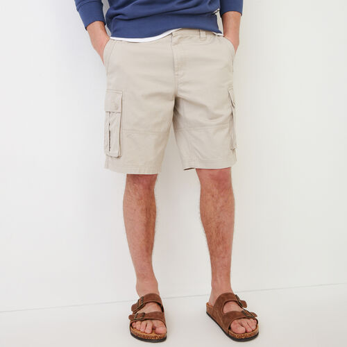 Roots-Hommes Shorts-Short Cargo Burlington-Vrai Kaki-A