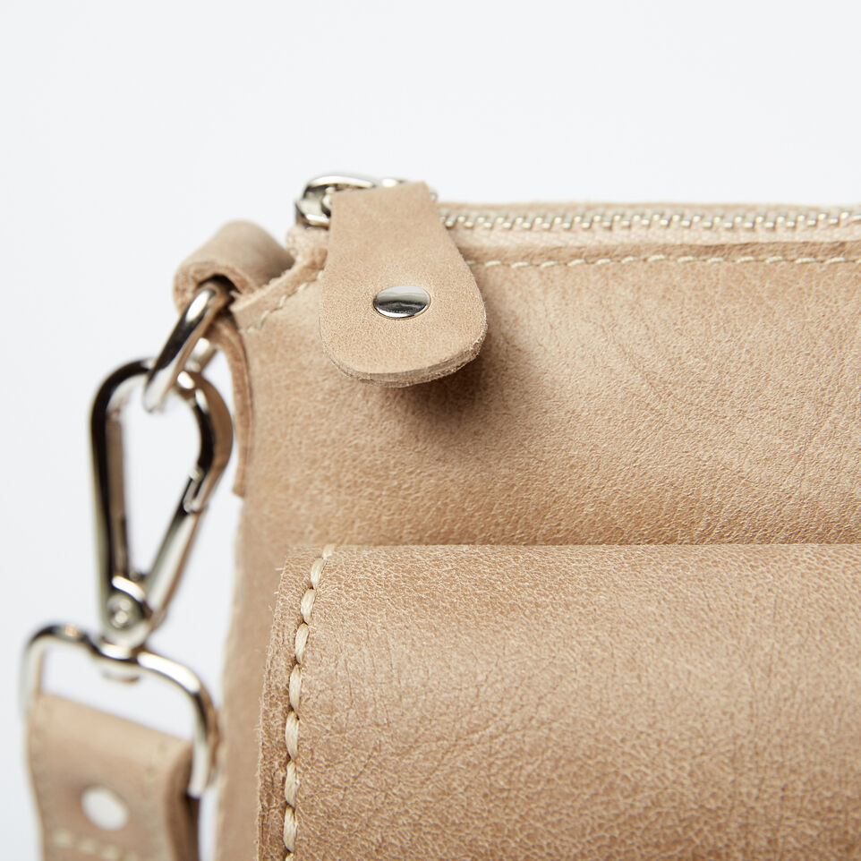 Roots-Leather Handbags-The Villager Tribe-Sand-D