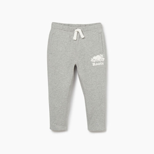Roots-Kids New Arrivals-Toddler Easy Ankle Sweatpant-Grey Mix-A