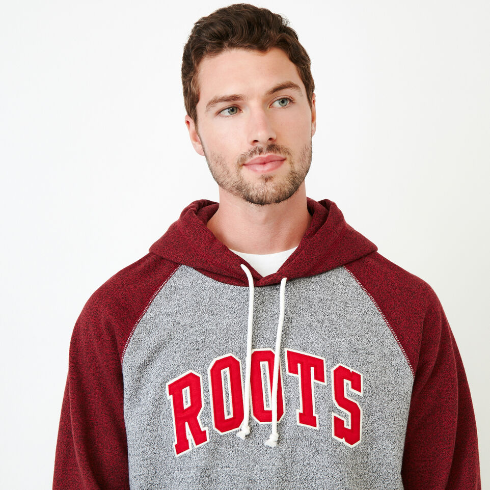 Roots-Men Our Favourite New Arrivals-Nova Scotia Block Hoody-Sage Red Pepper-E