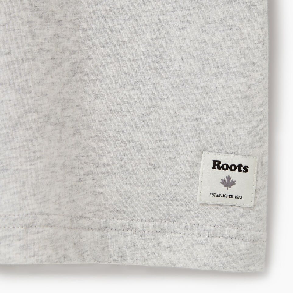 Roots-Men Our Favourite New Arrivals-Mens Camp T-shirt-White Mix-C