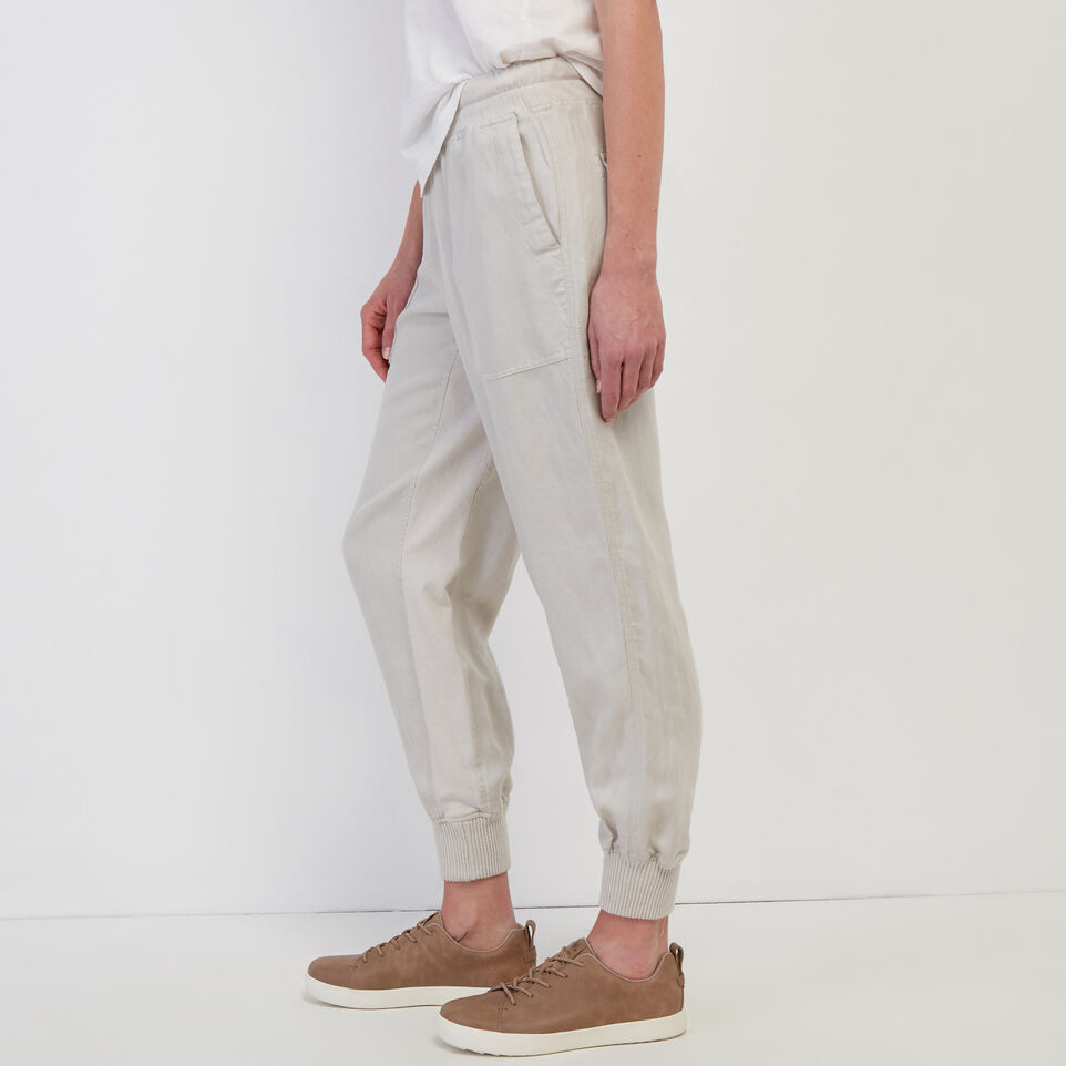 Roots-undefined-Linen Essential Jogger-undefined-C