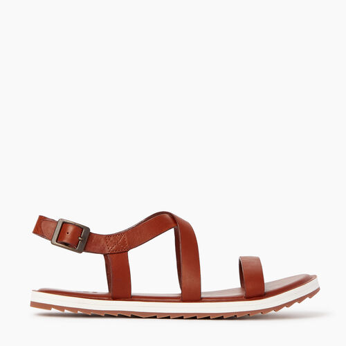 Roots-Clearance Footwear-Womens Nelson Sandal-Infield-A