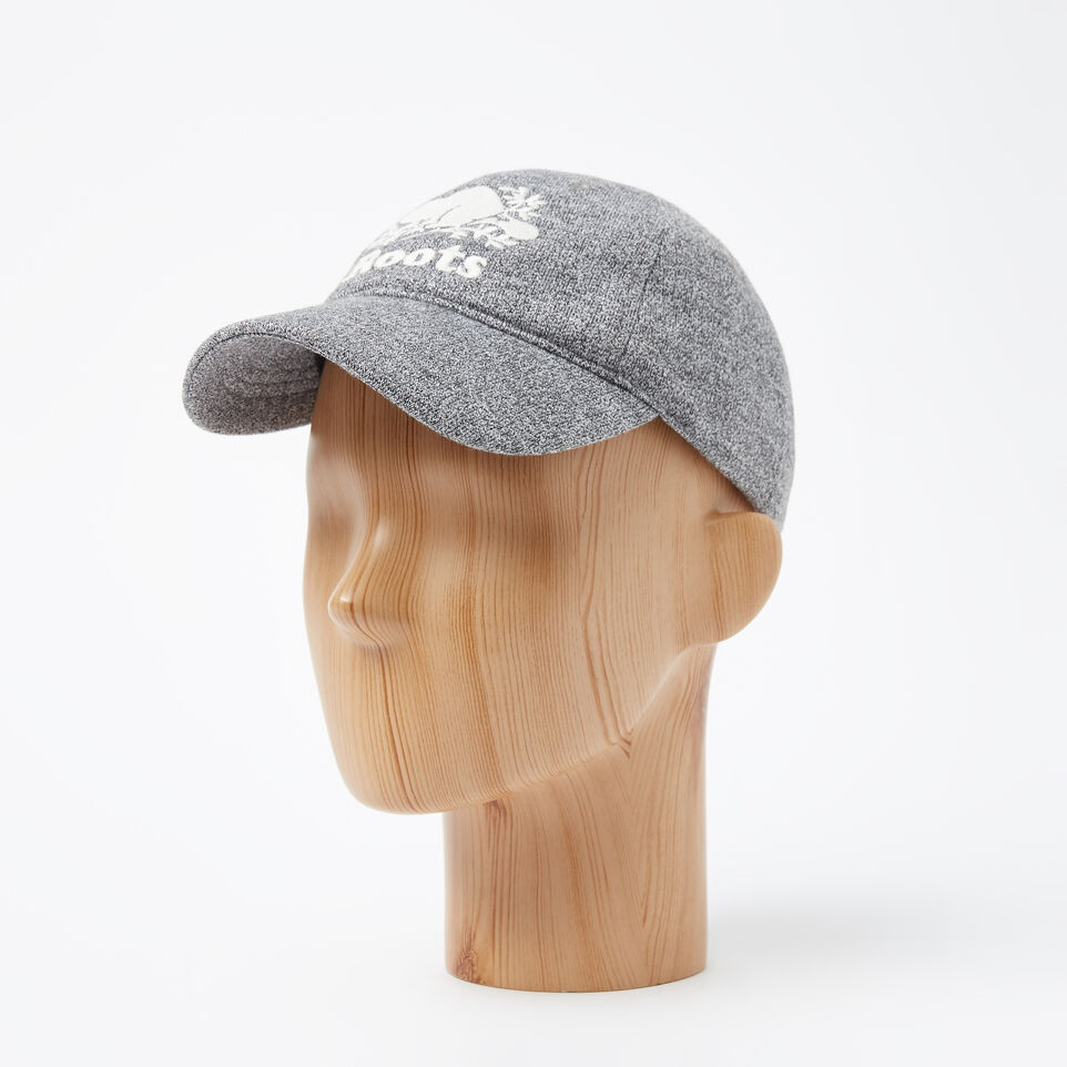 Roots-undefined-Kids Cooper Fleece Baseball Cap-undefined-B