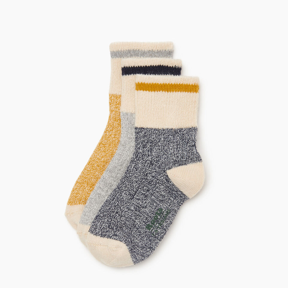Roots-undefined-Kids Cotton Cabin Ankle Sock-undefined-A