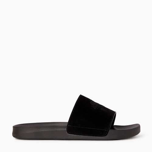 Roots-Footwear Categories-Womens Long Point Slide-Black-A