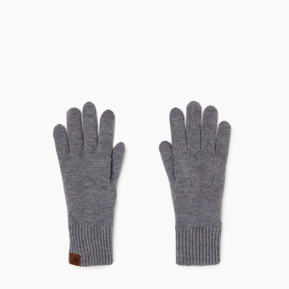 Roots-Women Categories-Robson Texting Glove-Grey Mix-B
