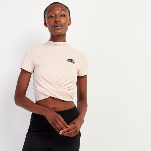 Roots-Sale Tops-Longitude Athletic Top-Misty Rose-A