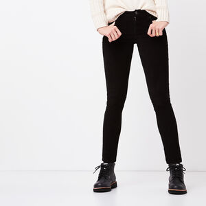 Roots-Sale Bottoms-Stretch Riley Cord-Black-A
