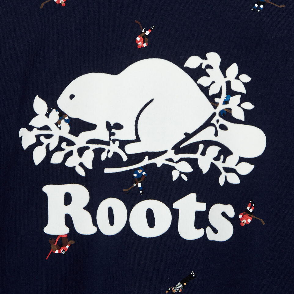 Roots-Kids Our Favourite New Arrivals-Boys Hockey AOP T-shirt-Cascade Blue-C