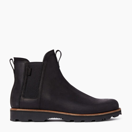 Roots-Footwear Men's Footwear-Mens Lansdowne Boot-Black-A
