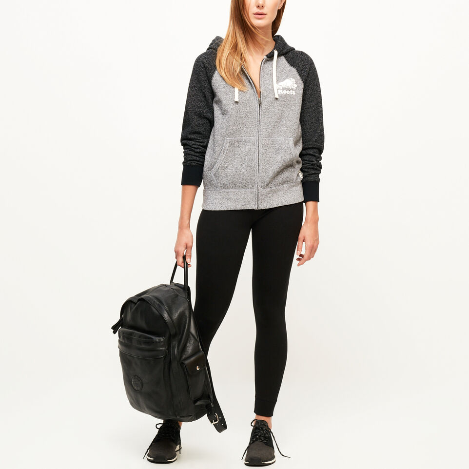Roots-undefined-Colour-blocked Zip Hoody-undefined-B