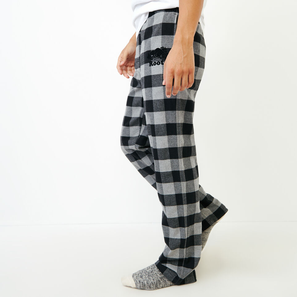 Roots-Men New Arrivals-Inglenook Lounge Pant-Grey Mix-C