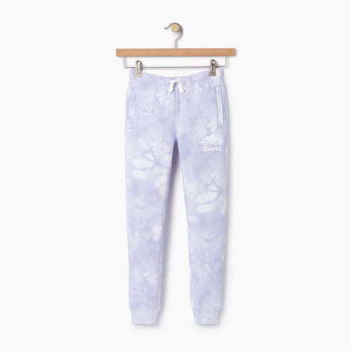 Roots-Kids Categories-Girls Cloud Nine Sweatpant-Thistle-A