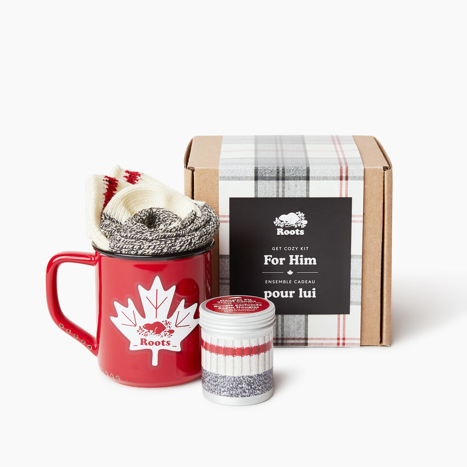 Roots-Women General Store-Get Cozy Kit For Him-Multi-A