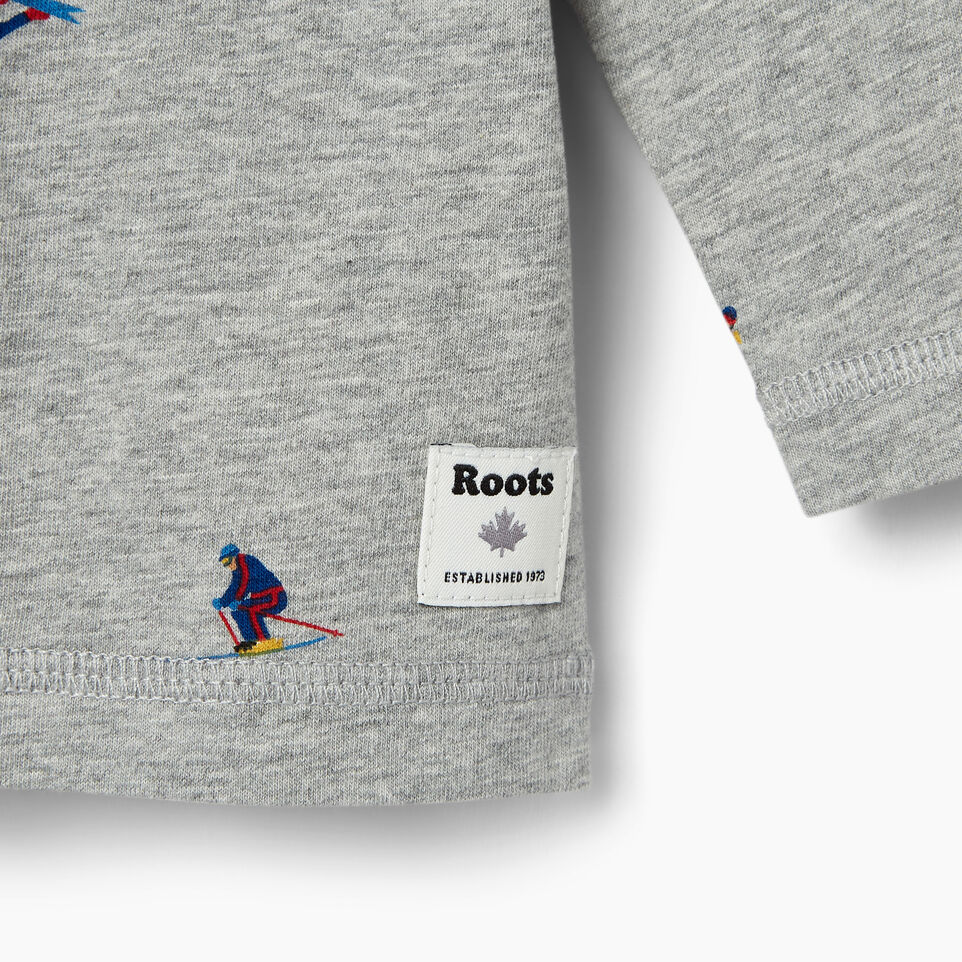 Roots-undefined-Baby Skier AOP T-shirt-undefined-C
