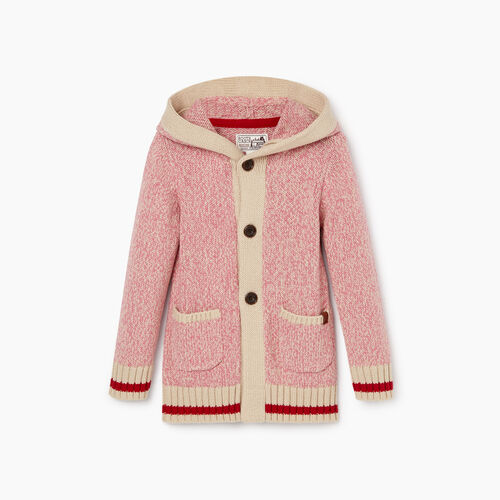 Roots-Kids Tops-Toddler Roots Cabin Cardigan-Cashmere Rose-A