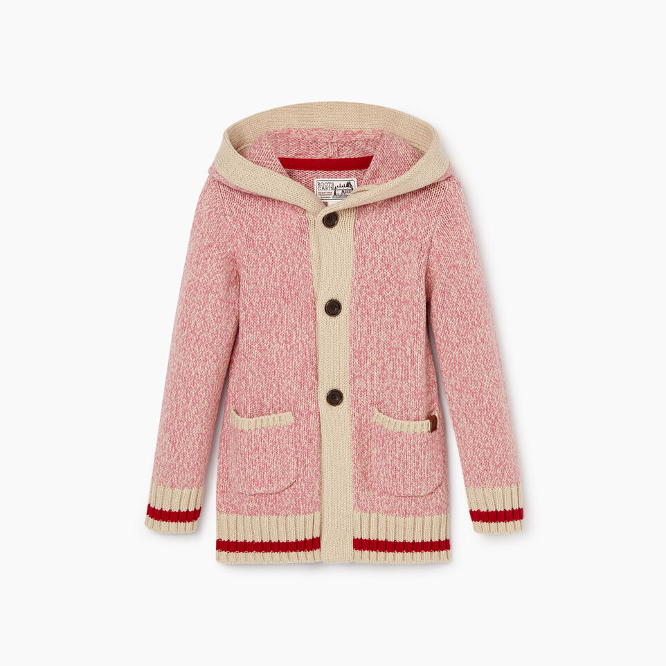 Roots-Kids Toddler Girls-Toddler Roots Cabin Cardigan-Cashmere Rose-A