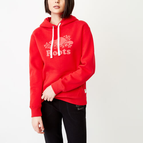 Roots-Women Our Favourite New Arrivals-Roots Reflective Hoody-Racing Red-A