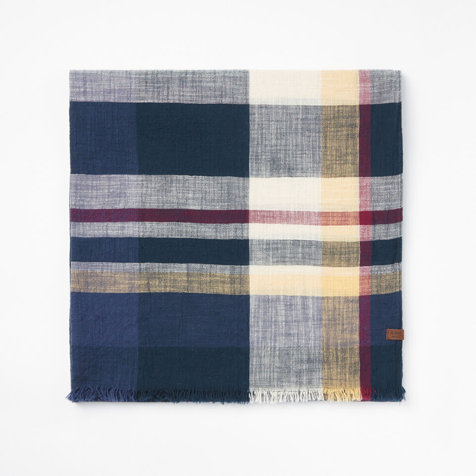 Roots-undefined-Womens Madras Scarf-undefined-A