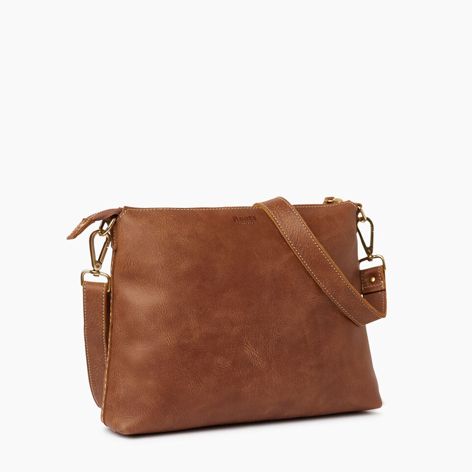 Roots-Leather  Handcrafted By Us Our Favourite New Arrivals-Richmond Crossbody-Natural-C