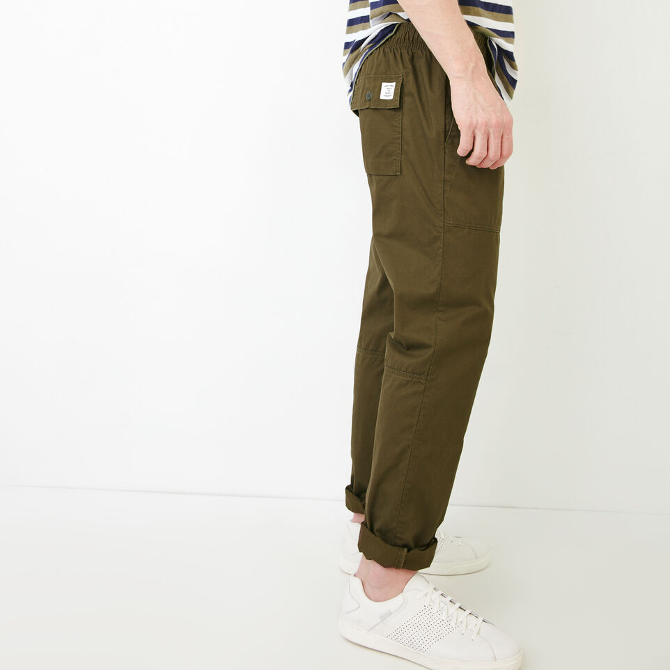 Roots-Men Our Favourite New Arrivals-Easy Utility Pant-Fatigue-C
