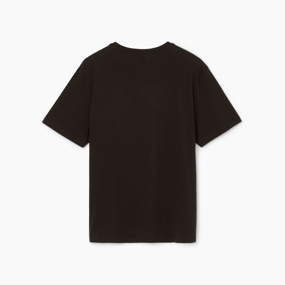 Roots-Men Our Favourite New Arrivals-Mens Stamps T-shirt-Black-B