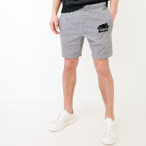 Roots-New For July Men-Original Short 8 In-Salt & Pepper-A