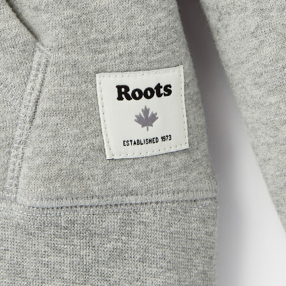Roots-Clearance Kids-Girls Original Kanga Hoody-Grey Mix-C