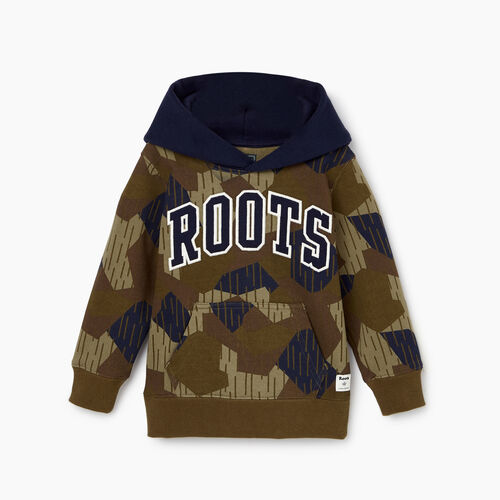 Roots-Kids Tops-Toddler Nova Scotia Camo Hoody-Camo Print-A