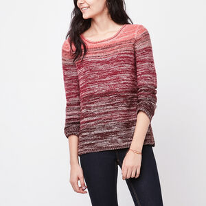 Roots-Sale Women-Terrosa Space Dye Sweater-Faded Rose-A