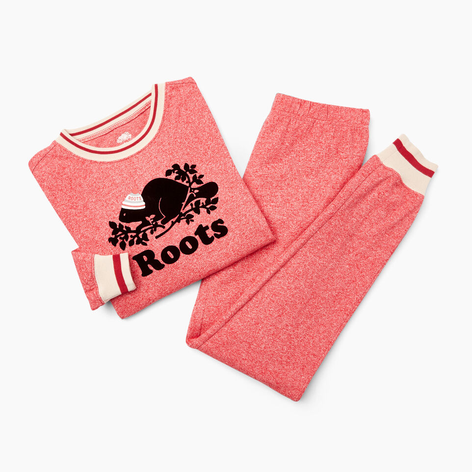 Roots-undefined-Girls Buddy PJ Set-undefined-A
