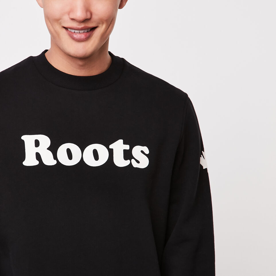 Roots-undefined-Original Wordmark Crew Sweatshirt-undefined-C