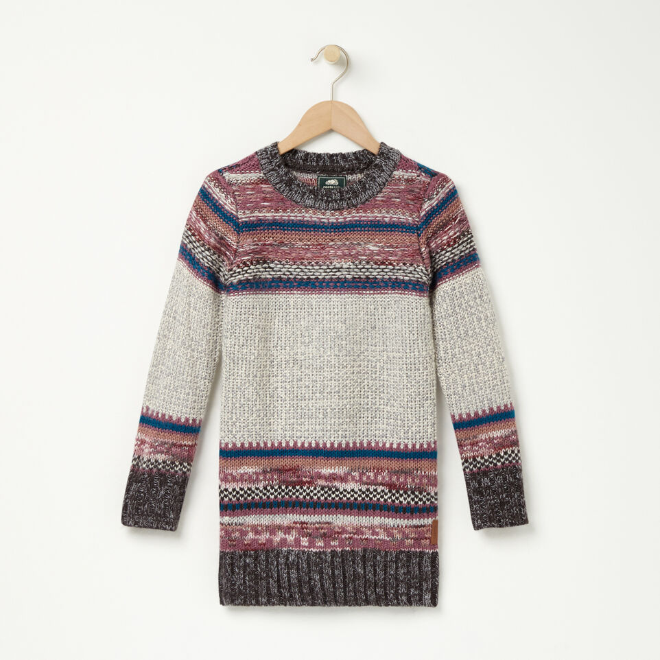 Roots-undefined-Girls Fair Isle Sweater Tunic-undefined-A