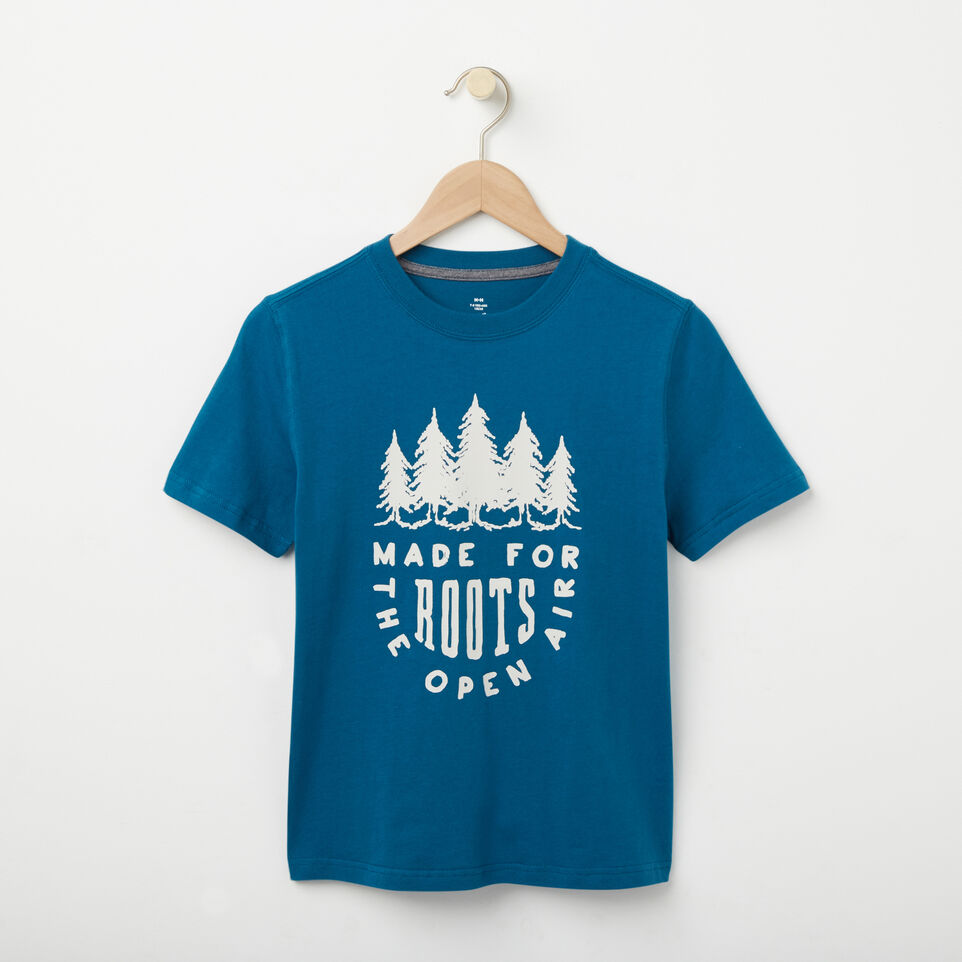 Roots-undefined-Garçons T-shirt Tree Stack-undefined-A