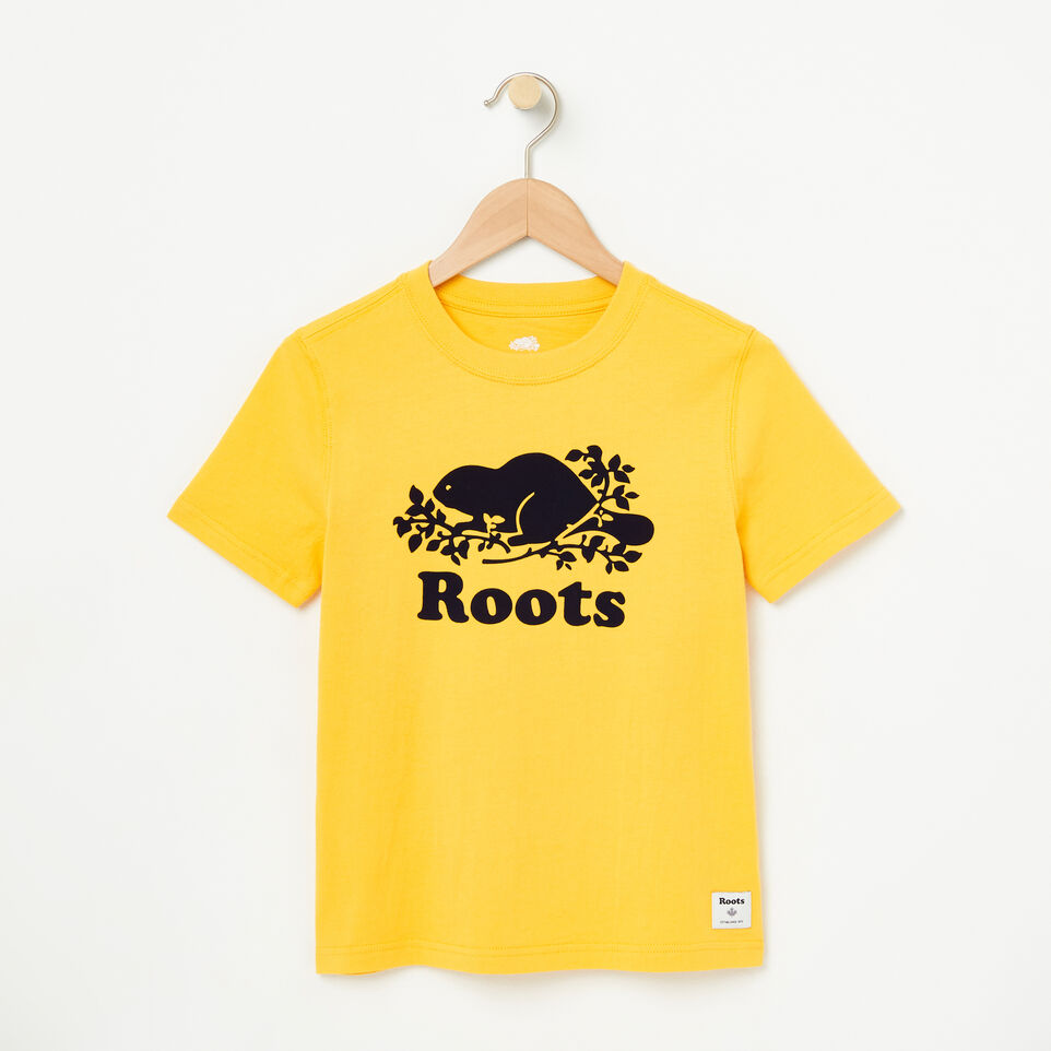 Roots-undefined-Boys Cooper Short Sleeve T-shirt-undefined-A