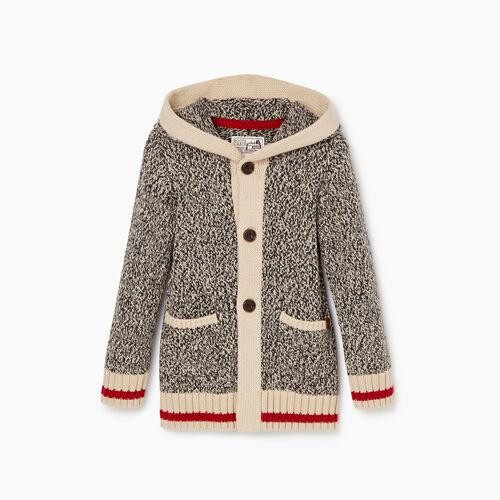 Roots-Kids Tops-Toddler Roots Cabin Cardigan-Grey Oat Mix-A