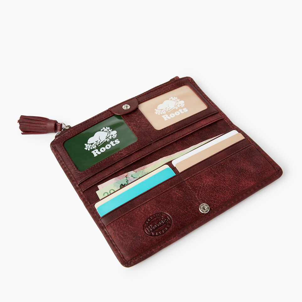 Slim Wallet Tribe | Womens Leather Wallets | Roots