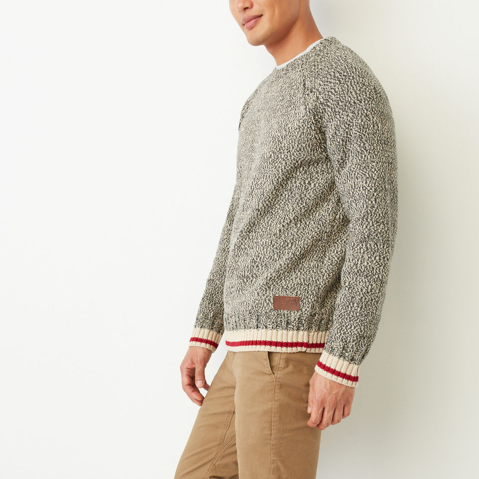 Roots-undefined-Roots Cotton Cabin Crew Sweatshirt-undefined-C
