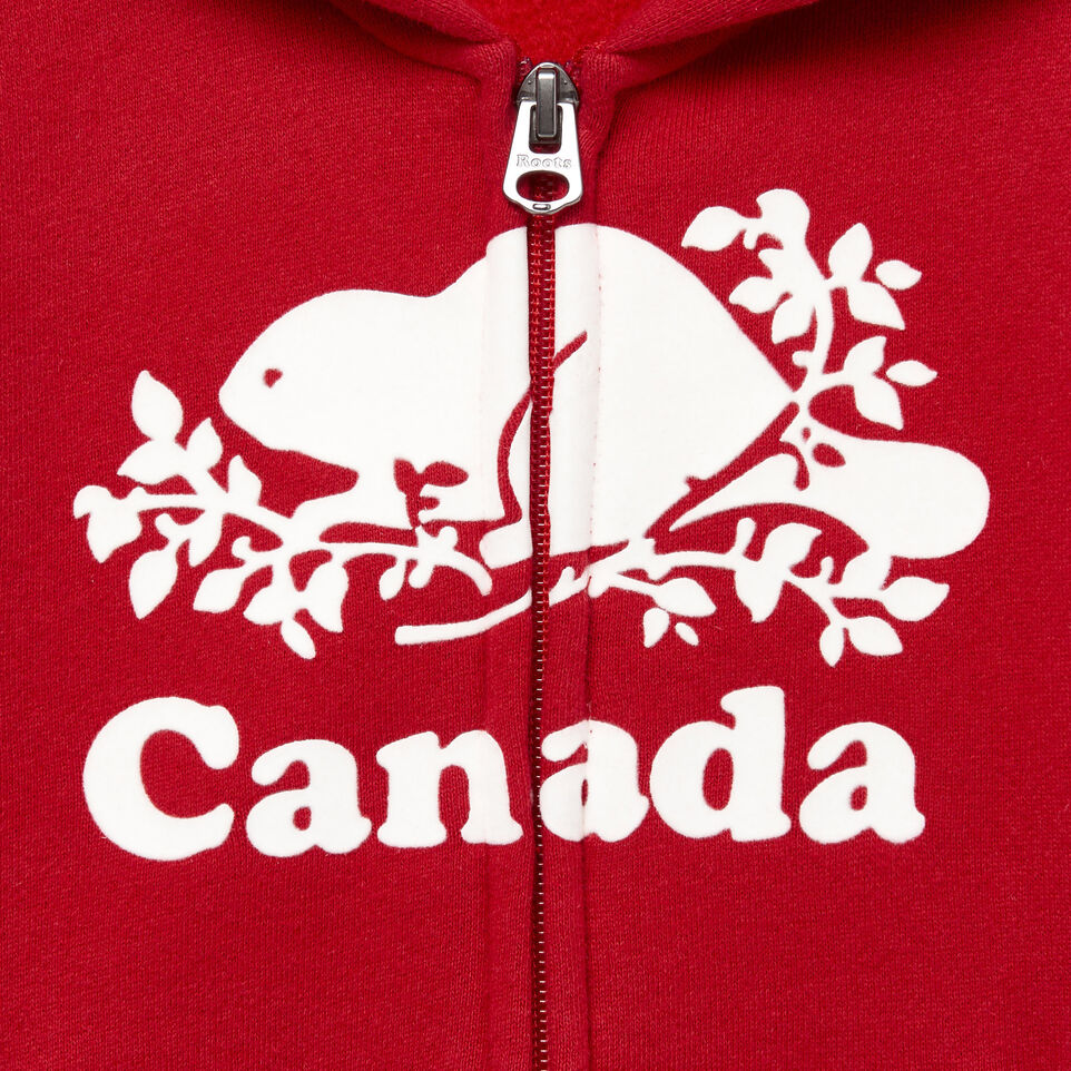 Roots-Kids Our Favourite New Arrivals-Toddler Canada Full Zip Hoody-Sage Red-D