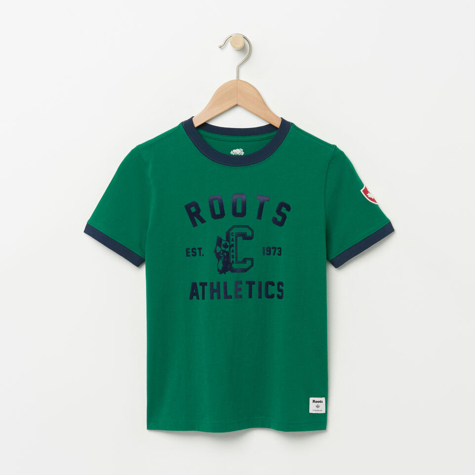 Roots-Boys Mackenzie Ringer T-shirt