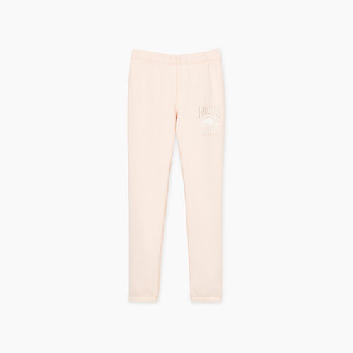Roots-Kids Bottoms-Girls RBA Sweatpant-Crystal Pink-A
