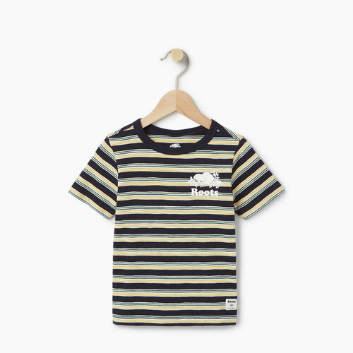Roots-Clearance Kids-Toddler Cooper Stripe T-shirt-Navy Blazer-A