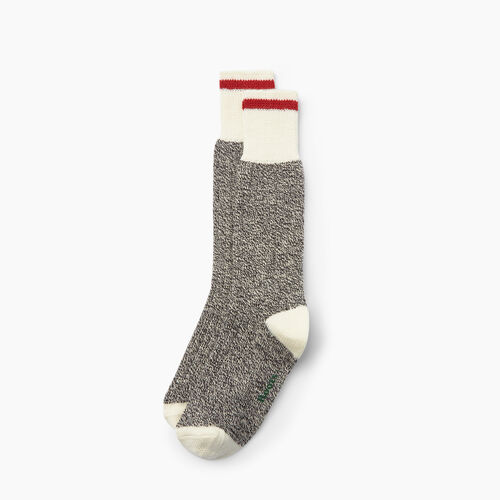 Roots-Men Accessories-Roots Cabin Sock 3 Pack-Grey Oat Mix-A