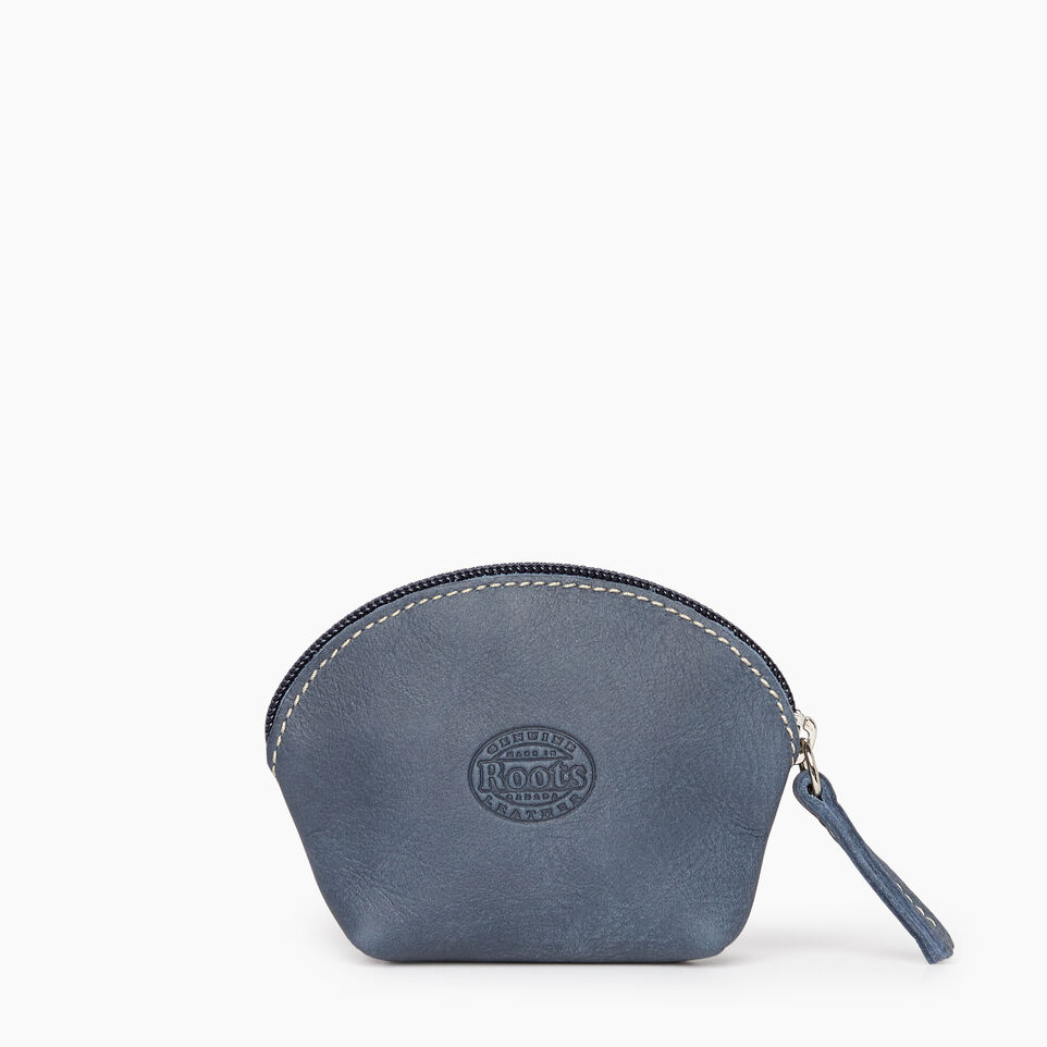 Roots-Leather New Arrivals-Small Euro Pouch-Navy-B