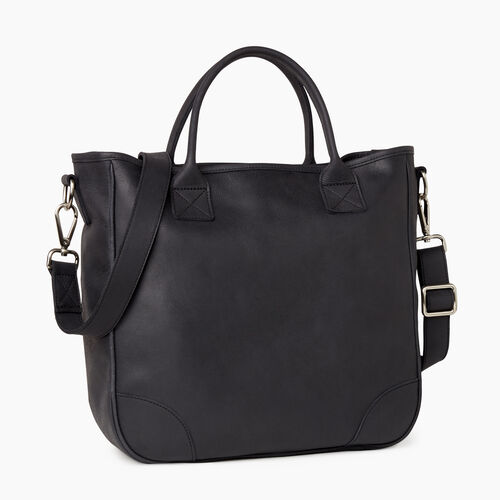 Roots-Leather Our Favourite New Arrivals-Jasper Tote-Jet Black-A